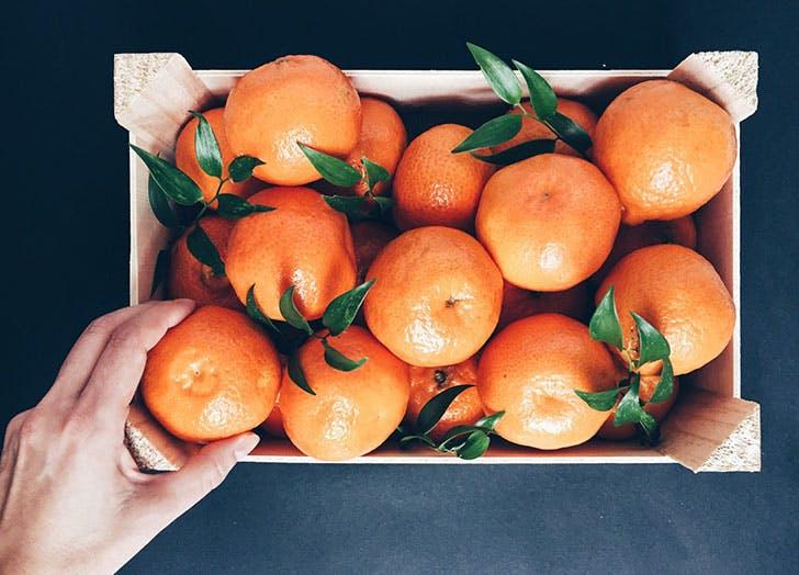 oranges fruit storage