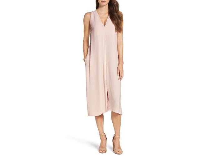 oversized pink jumpsuit french connection