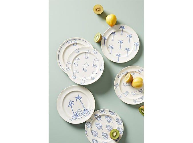 patterned deser plates