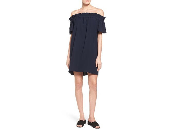 pelione off the shoulder dress1