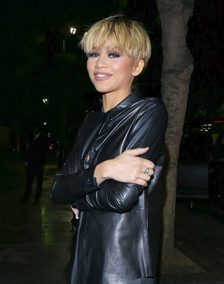 pixie haircut with bangs 2