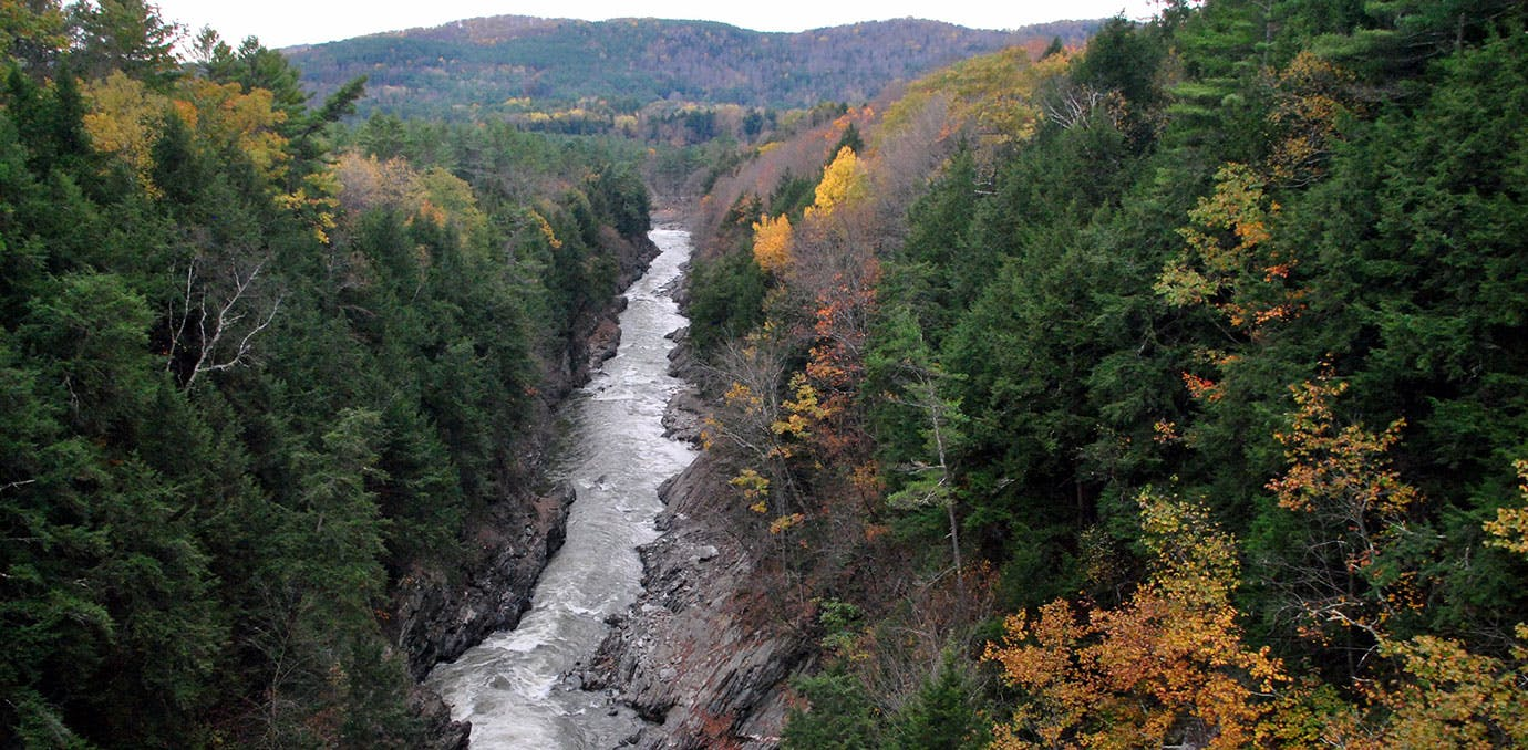 places to go on a mini moon quechee woodstock vermont