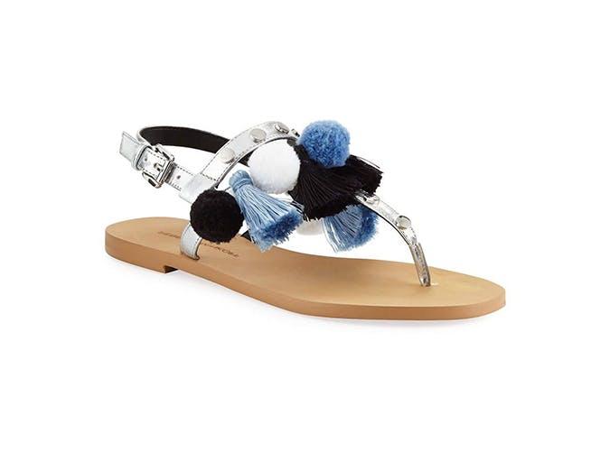 pom pom sandals use