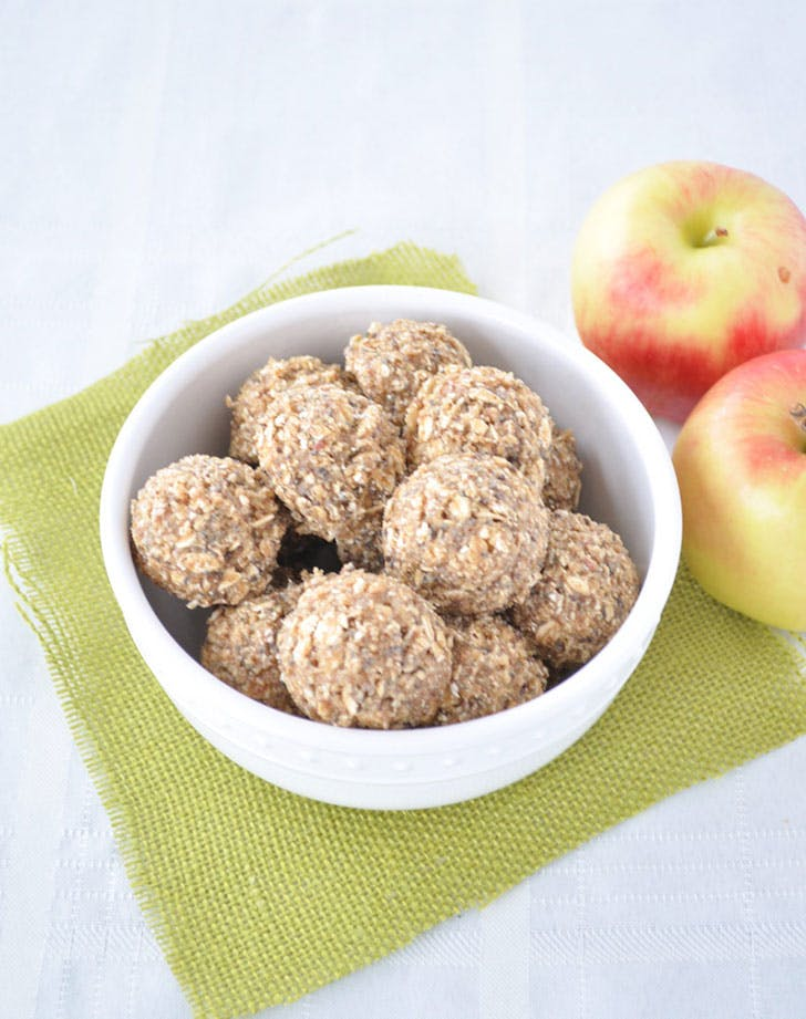 protein ball recipes apple almond