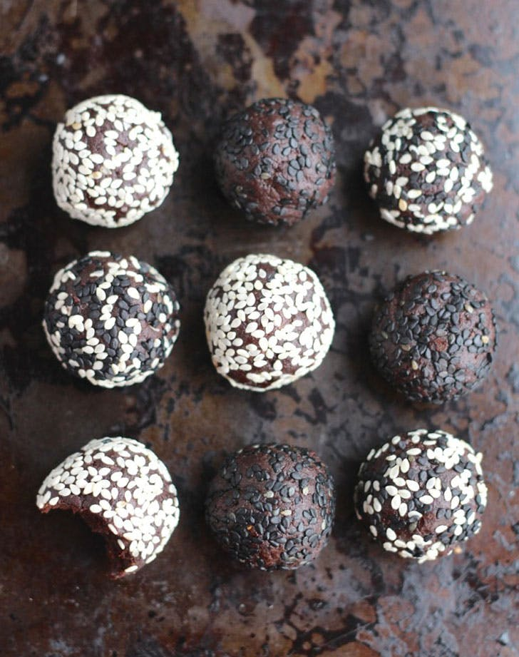 protein ball recipes chocolate tahini