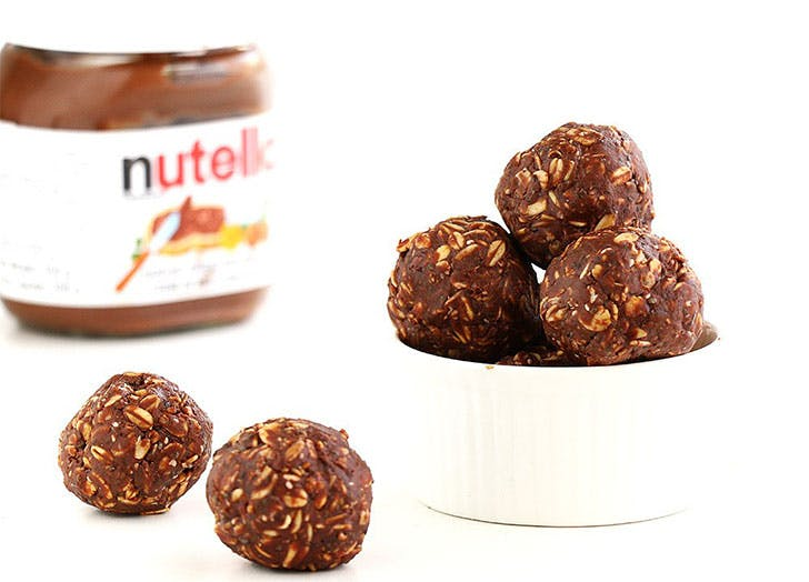 protein ball recipes nutella chia