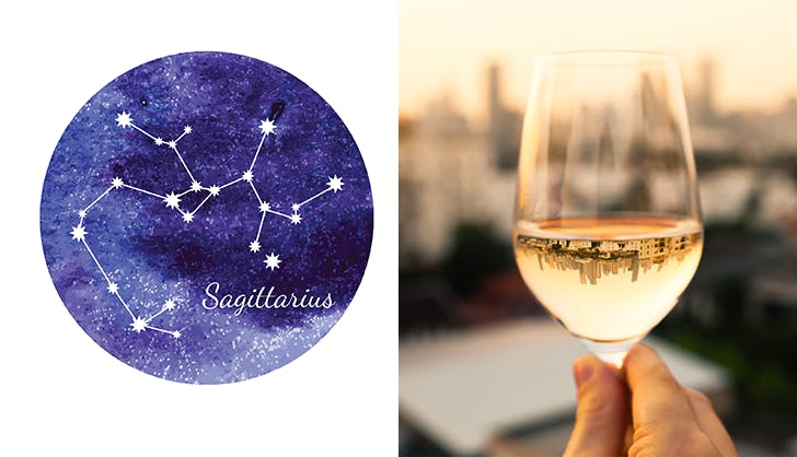 sagittarius chardonnay wine