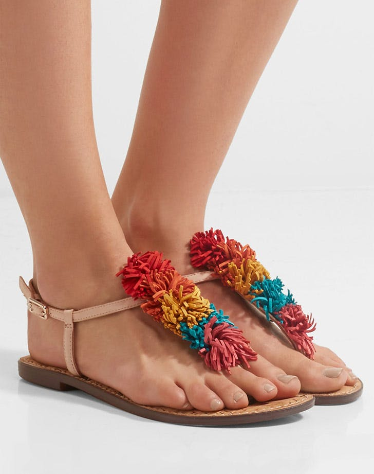sam edelman pom pom sandals NY