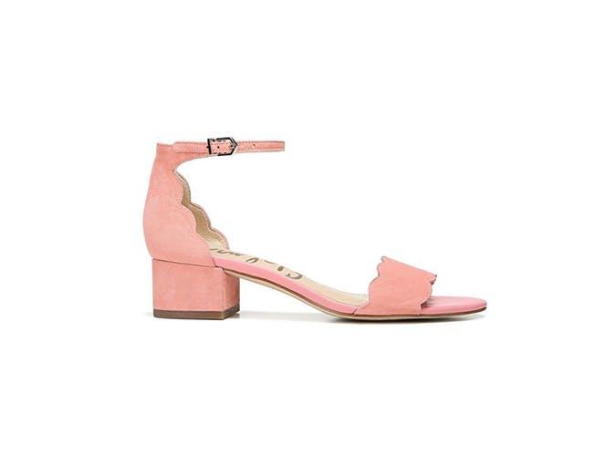 scalloped heel