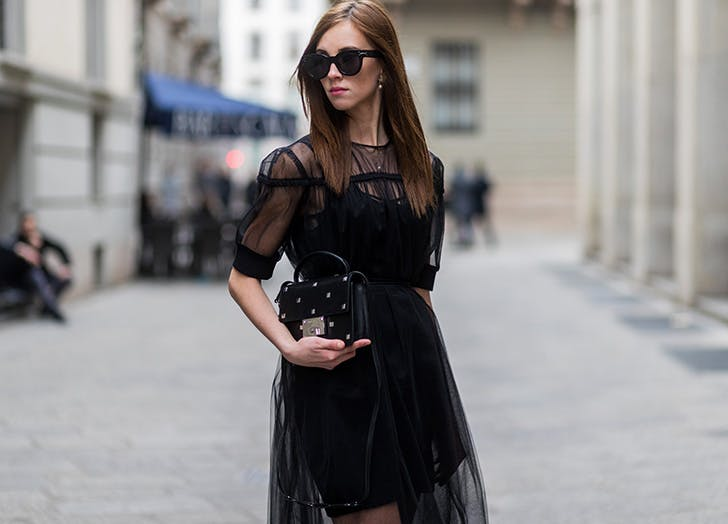 sheer midi dress NY1