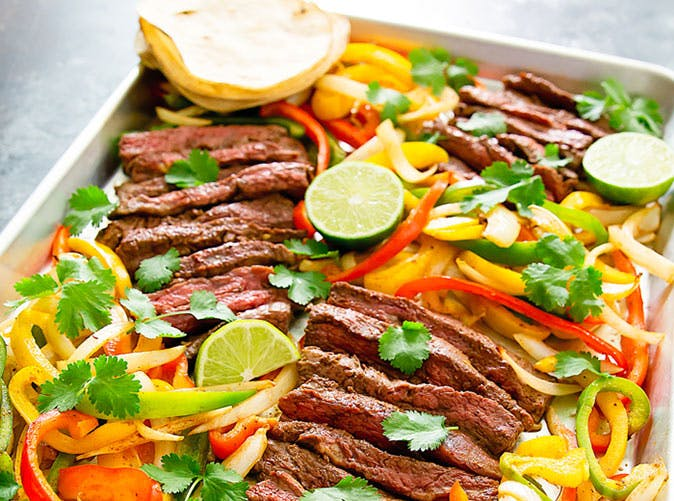 sheet pan steak fajitas 501
