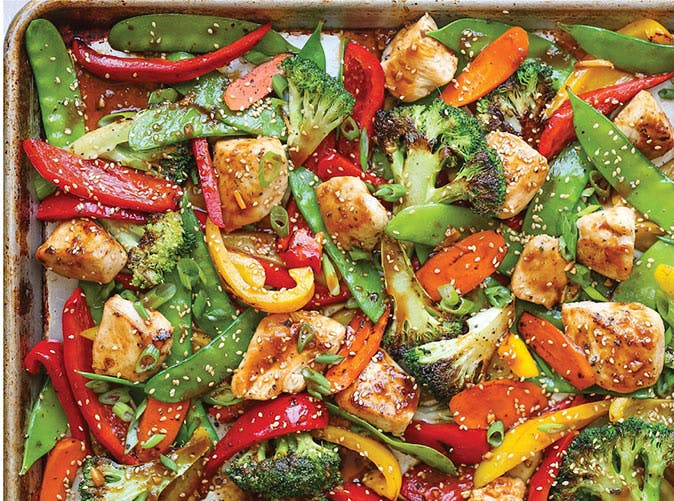 sheet pan stir fry 501