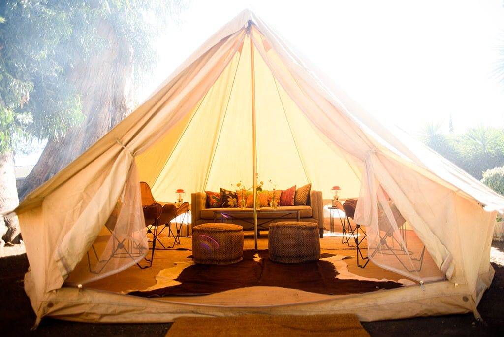 shelter co. tent los angeles glamping
