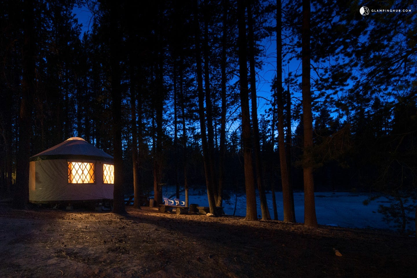 sierra national forrest yurt los angeles glamping