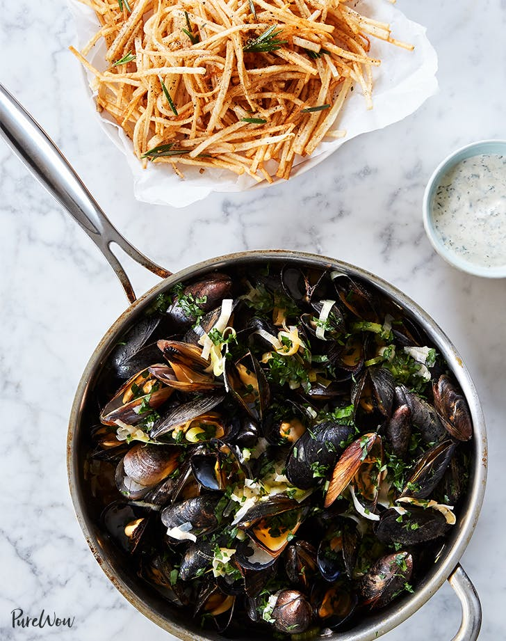skillet dinners mussels fries recipes LIST