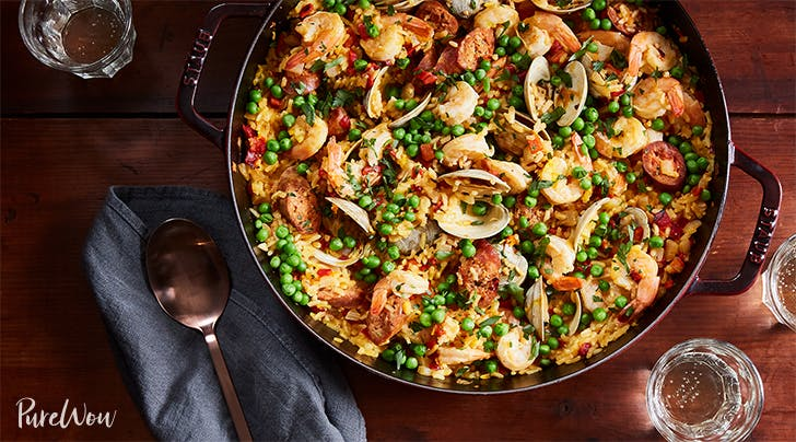 Cheater's Skillet Paella