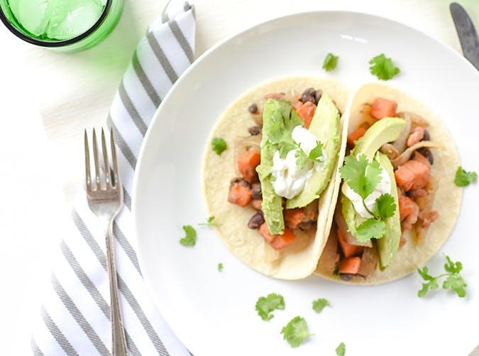 spicy bean taco 501