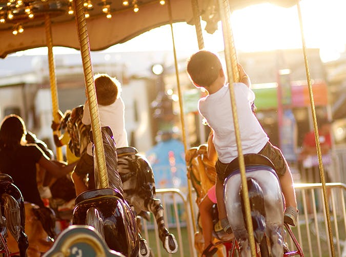 summer kids carnival