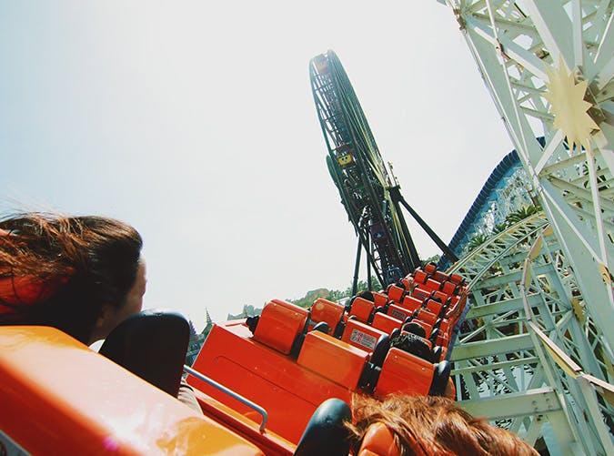 summer kids rollercoaster