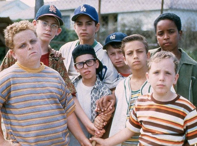 summer kids sandlot