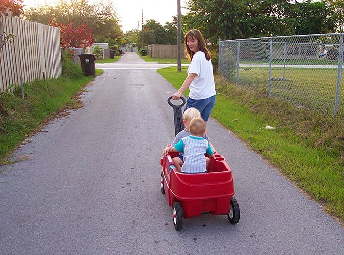 summer kids wagon