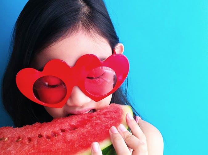 summer kids watermelon