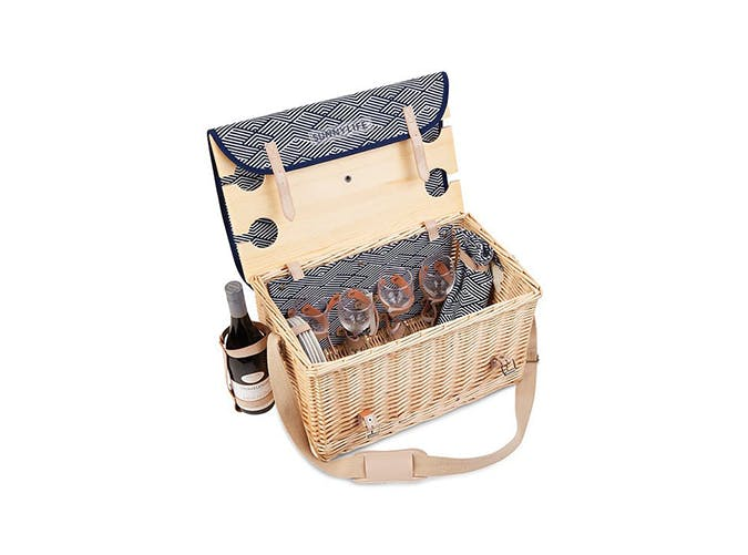sunnylife picnic basket for summer