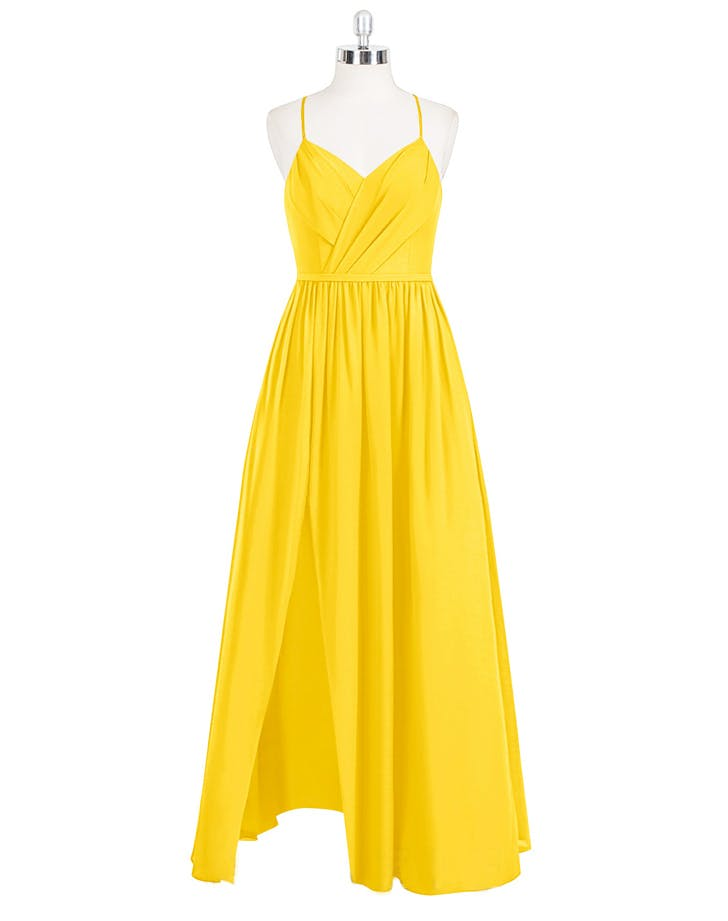 surplice maxi dress azazie bridesmaid dresses