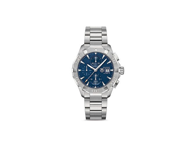 tag heuer silver watch fathers day
