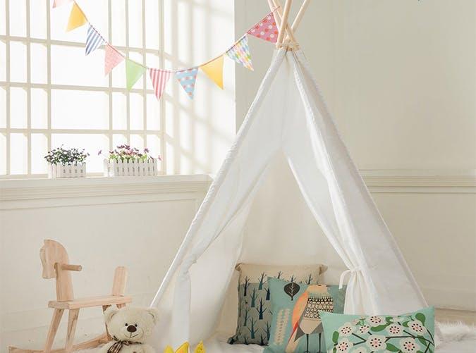 teepee baby nursery trends
