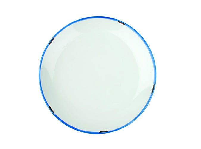 tin plate blue