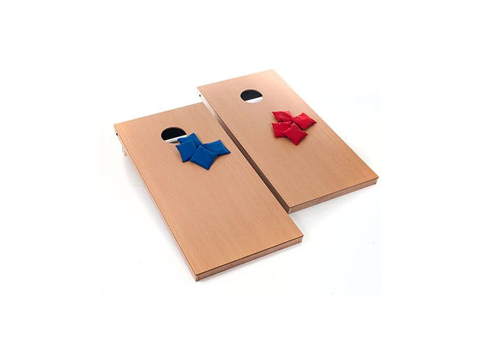 trademark games cornhole set fathers day