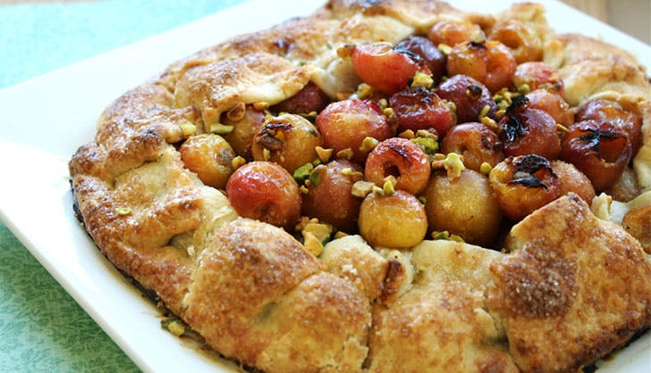trader joes recipes cherry pistachio galette