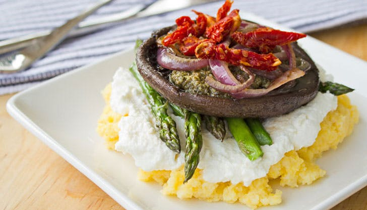 trader joes recipes portobello mushroom stack