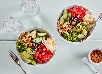 watermelon poke bowl recipes CAR