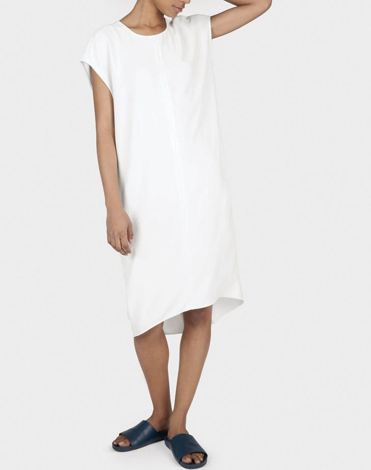 white dress cocoon