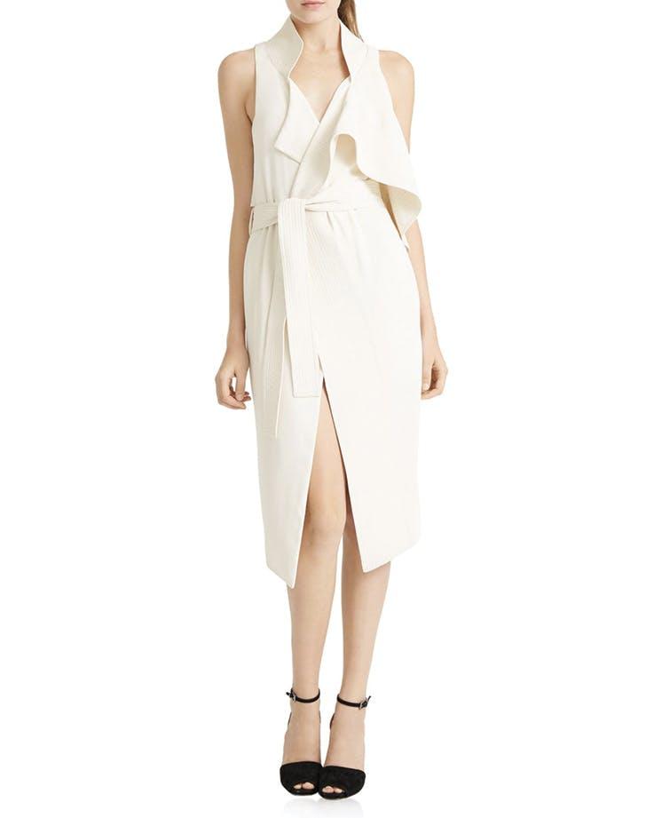 white dress vest