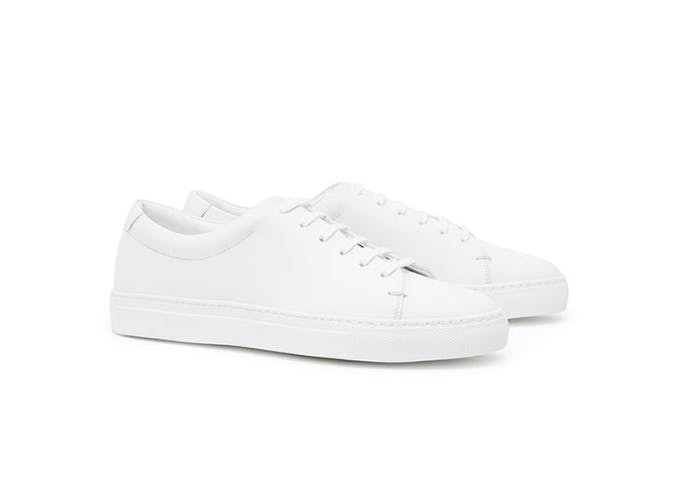 white sneakers use
