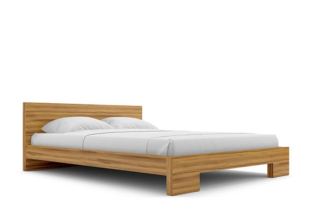 wood bed 5