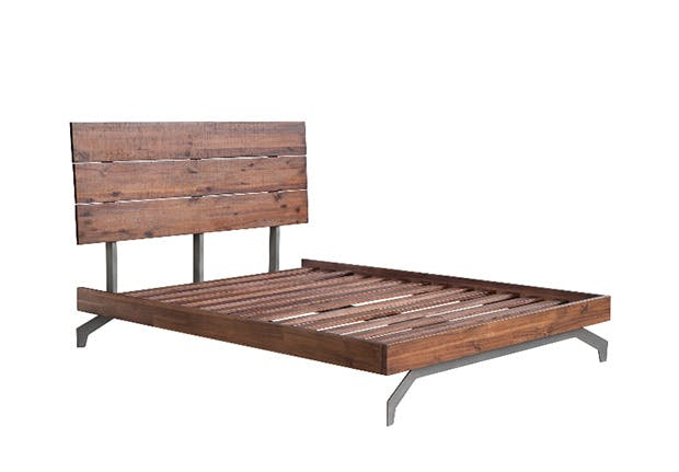 wood bed 9