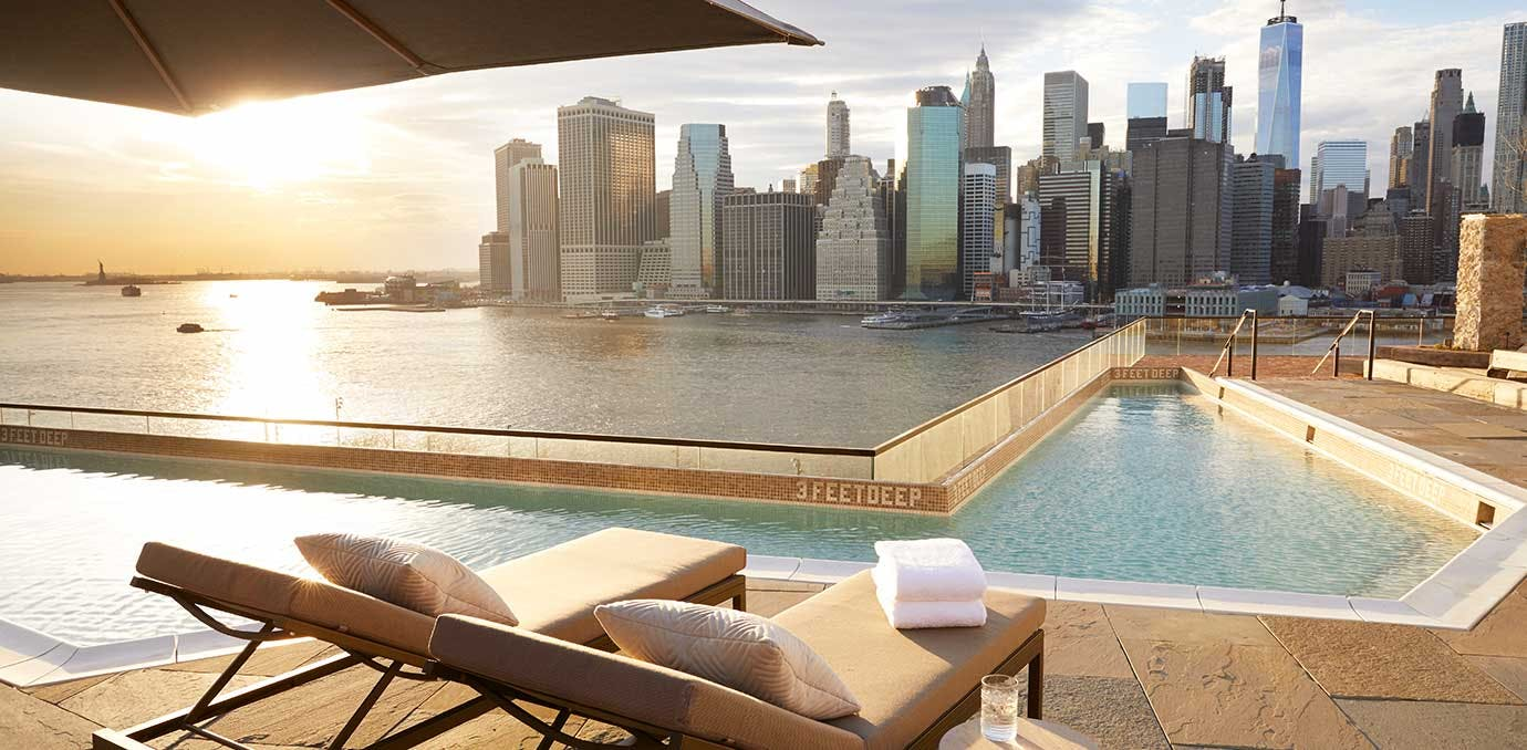 1 hotel brooklyn bridge rooftop bars NY