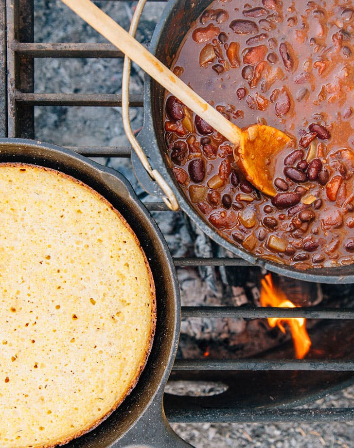 5 can camping chili