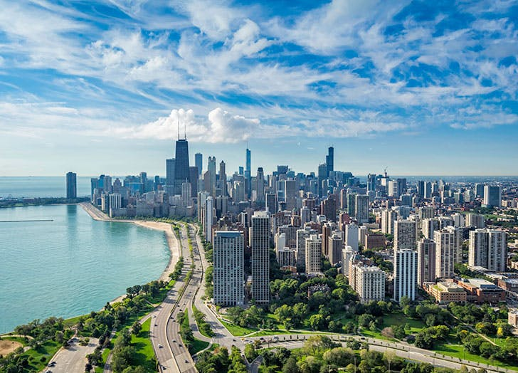 Beautiful view of Chicago aka the Windy City
