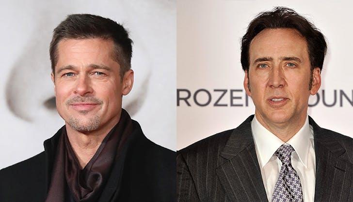 Brad Pitt Nicolas Cage Age Mates