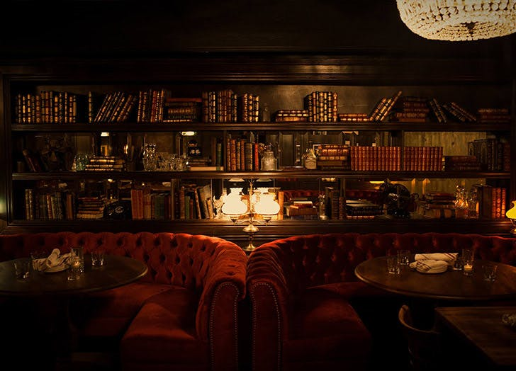 CHI secret bars the library LIST