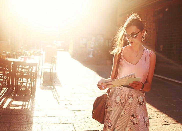 CHI summer beauty essentials woman walking LIST