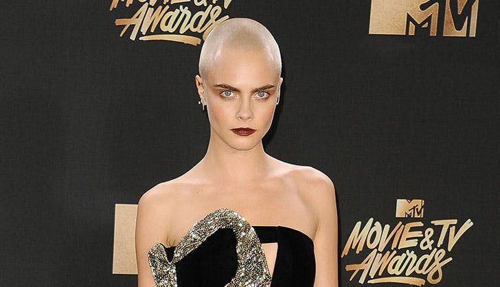 Cara Delevingne superior brow game