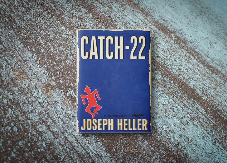 Catch 22 by Joseph Heller book cover
