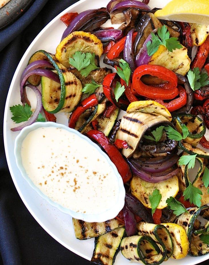 Chargrilled Vegetable Platter