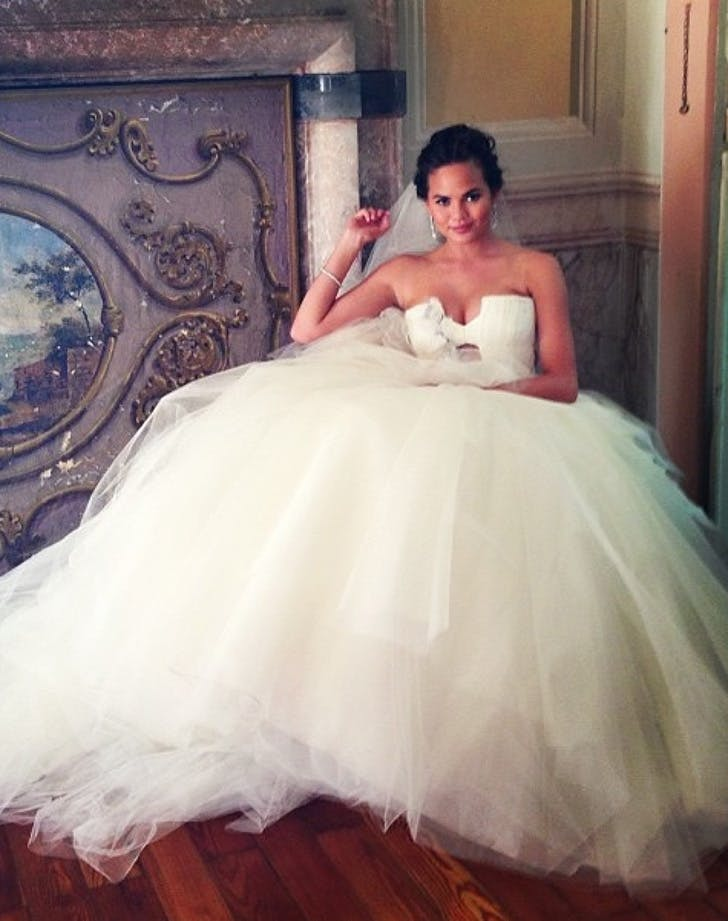 Chrissy Teigen Best Wedding Dresses